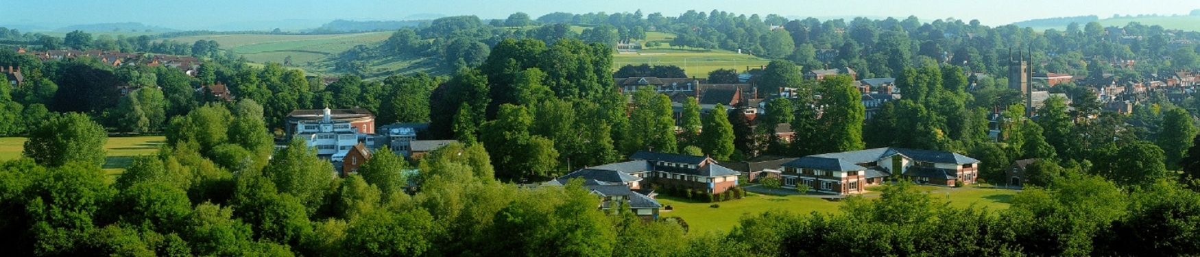 Marborough College - A birds eye view